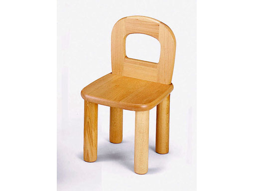 【子どもの家具】保育椅子〈座高26cm〉 ブロック社(日本製)お子様の成長に!