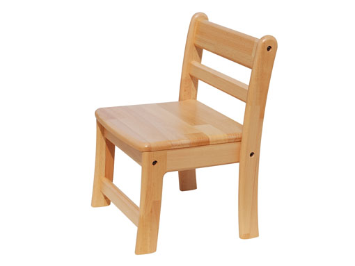 【子どもの家具】幼児用椅子〈座高29cm〉|ブロック社(日本製)お子様の成長に!