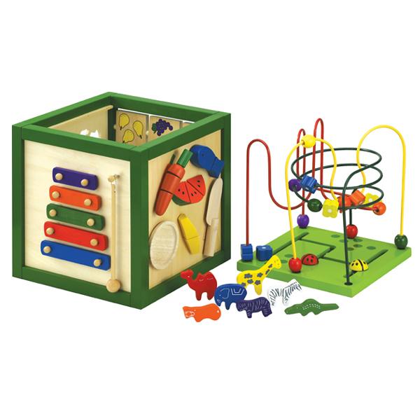 木のおもちゃ 遊び箱(1.5歳~)プレゼントに♪※北海道、沖縄、離島配送不可