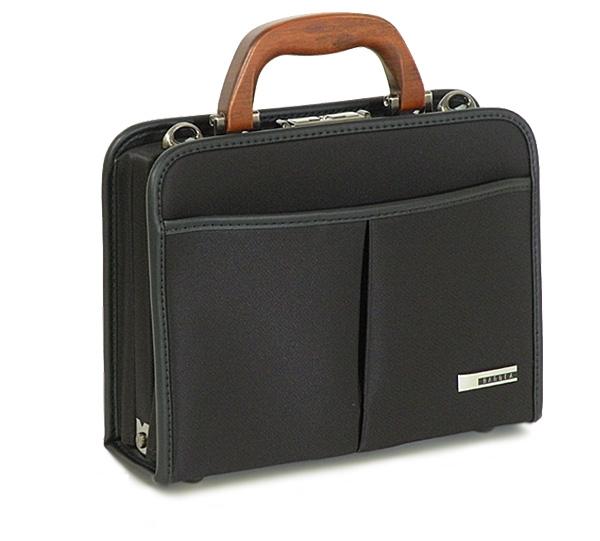 【日本製】鞄産地・豊岡の、鞄職人が手がけた自信作BAGGEX旭(アサヒ)セカンドバッグ ブラック(01)#U24-0293