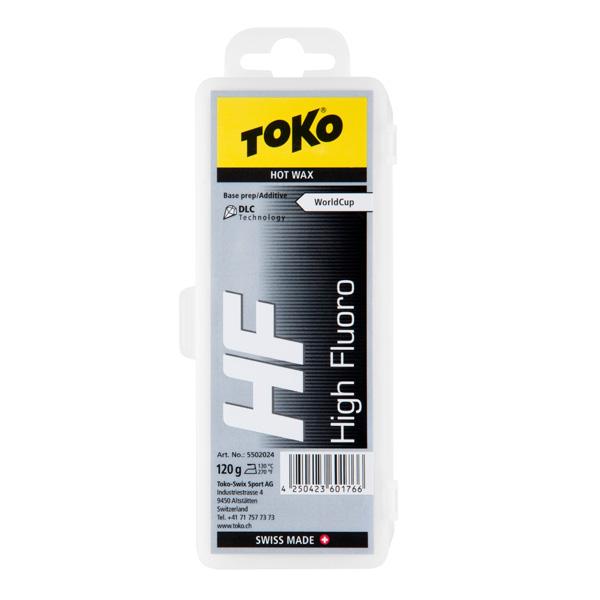 【エントリでP10&初売りセール!】TOKO 〔トコワックス〕 トリブロックHFブラック 120g 固形