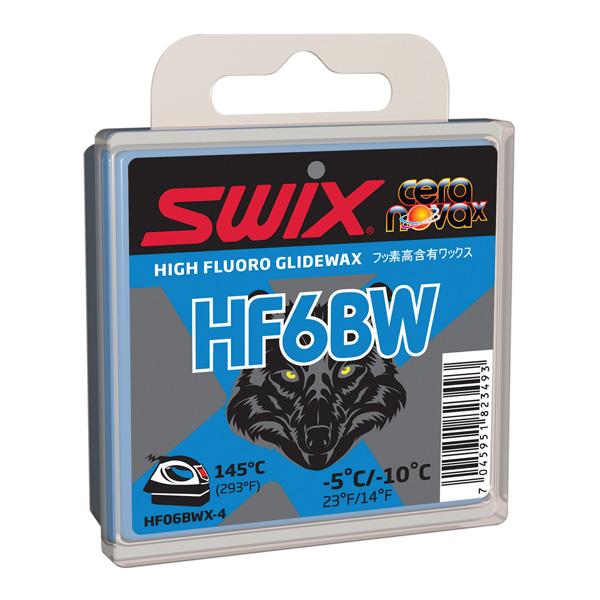 SWIX〔スウィックスワックス〕 HF06BWX-4 40g 固形