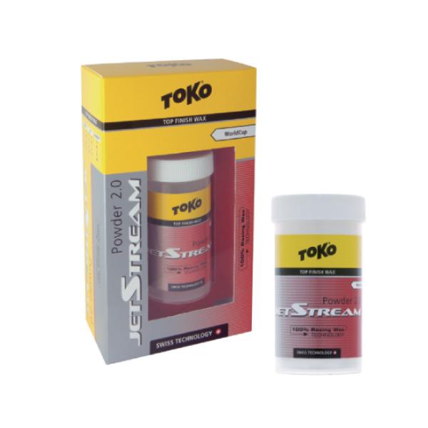 TOKO 〔トコワックス〕 JET STREAM パウダー2.0 レッド 30g パウダー