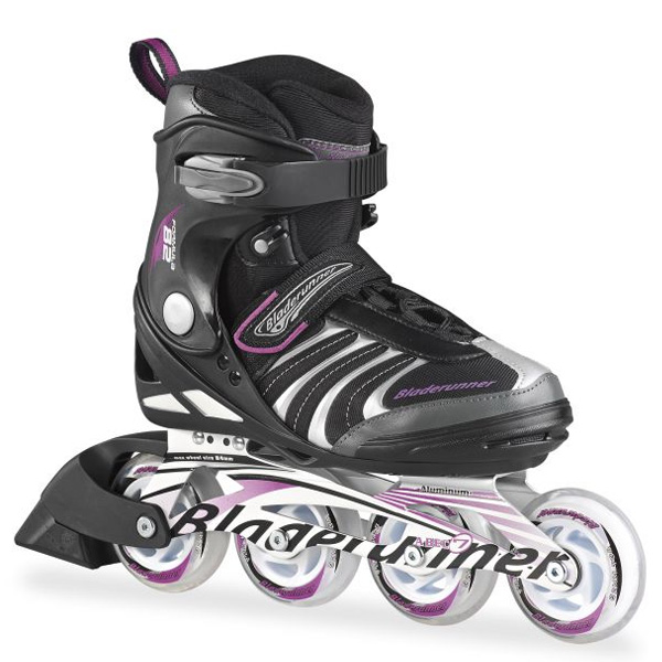 Bladerunner〔ブレードランナー〕 インラインスケート レディース FORMULA 82 W〔Black/Purple〕