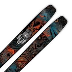 MOMENT〔モーメント スキー板〕<2016>TAHOE〔タホ〕 + <18>SQUIRE 11 ID〔BK〕【金具付き・取付料送料無料・取付位置必要】ファットスキー【SP】