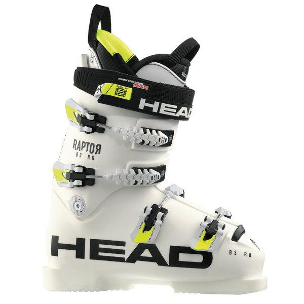 【18-19 NEWモデル】HEAD〔ヘッド スキーブーツ〕<2019>RAPTOR B3 RD〔ラプター B3 RD〕/ WHITE【送料無料】