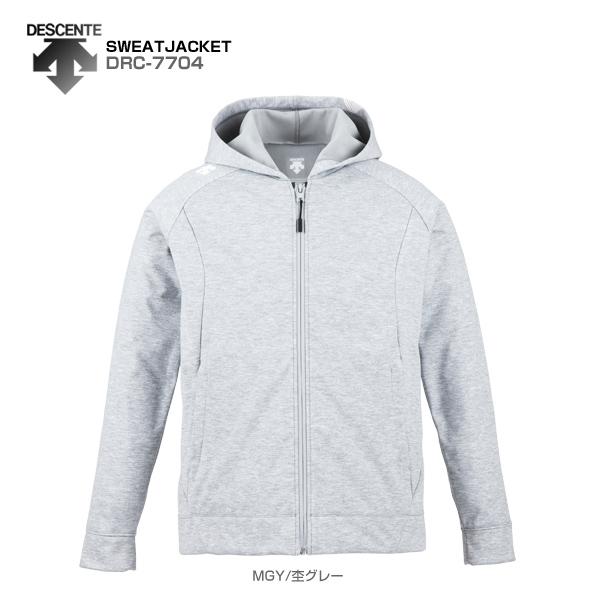 DESCENTE〔デサント ミドルレイヤー〕<2018>SWEAT JACKET/DRC-7704 スキー スノーボード