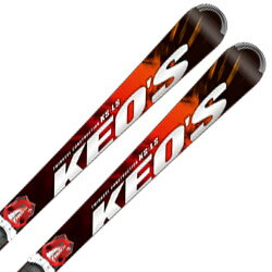 OGASAKA〔オガサカ スキー板〕<2018>KEO'S〔ケオッズ〕KS-LS + チロリア PRD 12【金具付き・取付送料無料】