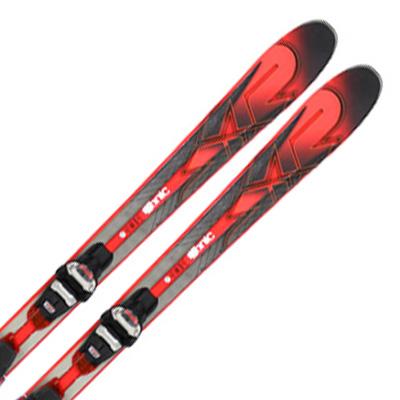 K2〔ケーツー スキー板〕<2017>iKonic 85Ti〔アイコニック85Ti〕 + MXC 12 FREE TCx QUICKLICK【金具付き・取付料送料無料】〔SA〕【E】