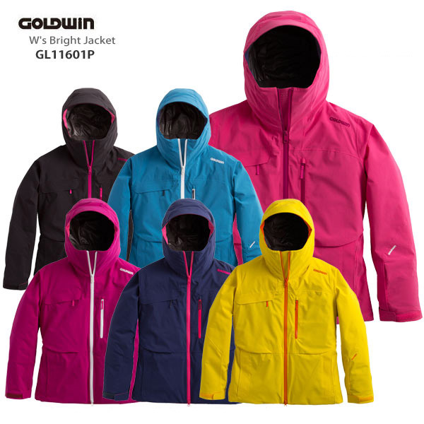 【LW】GOLDWIN〔ゴールドウィン スキーウェア レディース〕<2017>W's Bright Jacket GL11601P【送料無料】【MUJI】〔SA〕