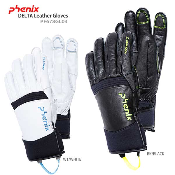 PHENIX 〔フェニックス スキーグローブ〕<2017>DELTA Leather Gloves PF678GL03〔SA〕