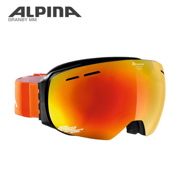 ALPINA〔アルピナ スキーゴーグル〕<2017>GRANBY MM〔オレンジ〕〔グランビー MM〕〔HG〕