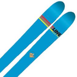 LINE〔ライン スキー板〕<2017>SICK DAY 102〔シックデイ102〕 + <19>SQUIRE 11 ID〔WH〕【金具付き・取付料送料無料】オールラウンド ファットスキー【SP】