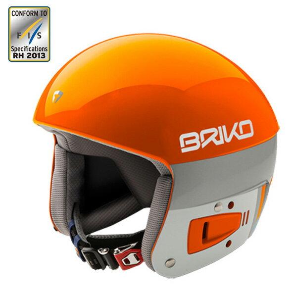 【送料無料】BRIKO〔ブリコ スキーヘルメット〕<2017>SH0001/VULCANO 6.8〔A006 オレンジラバ/ホワイトアッシュ〕〔HG〕〔SAH〕