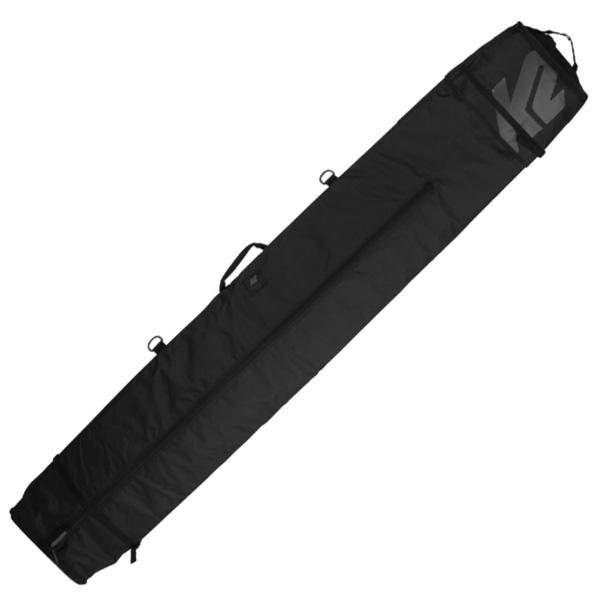 K2〔ケーツー2台用 スキーケース〕<2020>Deluxe Double ski Bag〔BLACK〕