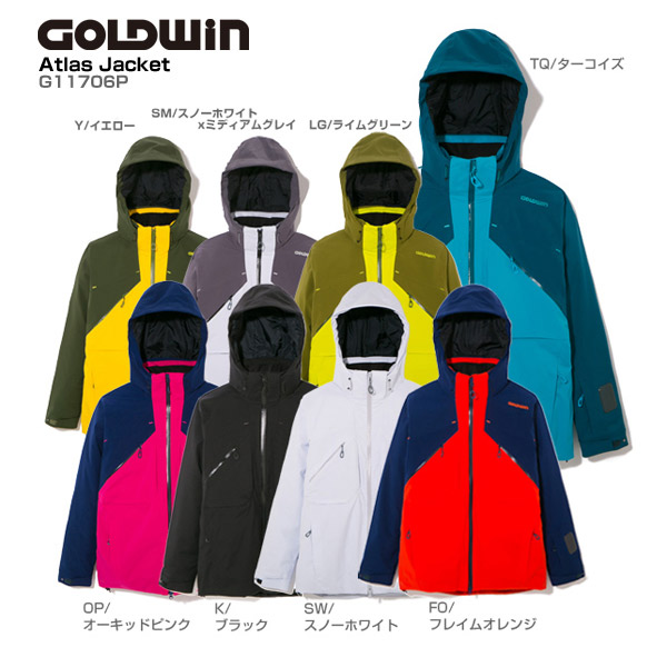 GOLDWIN〔ゴールドウィン スキーウェア ジャケット メンズ レディース〕<2018>ATLAS JACKET G11706P【送料無料】【技術選着用モデル】【MUJI】