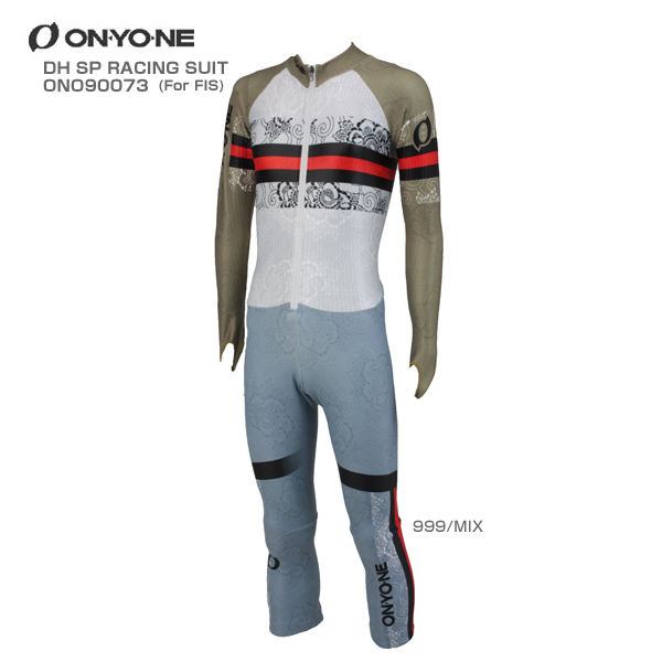 ON・YO・NE〔オンヨネ GSワンピース〕<2018>DH SP RACING SUIT〔FOR FIS〕ONO90073〔999/MIX〕【FIS対応】【送料無料】