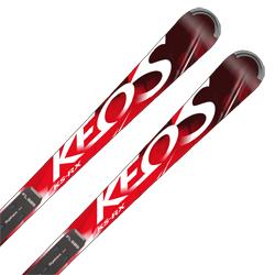 【期間限定!スキー板はさらにポイント5倍!11/14 18時~11/21 13時まで】【18-19 NEWモデル】OGASAKA〔オガサカ スキー板〕<2019>KEO'S〔ケオッズ〕KS-RX + FL585 + <17>RACE 16 pd.rd/wh【金具付き・取付料送料無料】基礎 オールラウンド