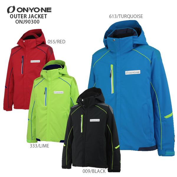 ON・YO・NE〔オンヨネ スキーウェア ジャケット〕<2018>OUTER JACKET ONJ90300〔SA〕