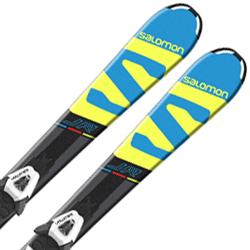 【期間限定!スキー板はさらにポイント5倍!11/14 18時~11/21 13時まで】SALOMON〔サロモン ジュニア キッズ スキー板〕<2018>X-RACE JR S + C5【金具付き・取付料無料】