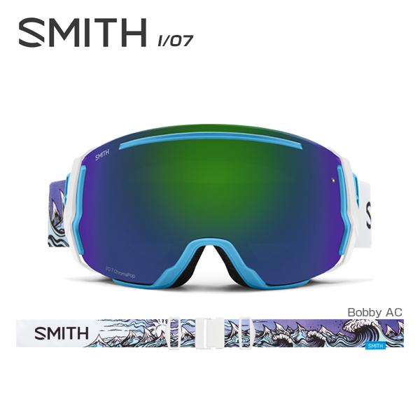 【数量限定モデル】SMITH 〔スミス スキーゴーグル〕<2018>I/O7〔アイオーセブン〕〔Bobby AC〕【スペアレンズ付】【送料無料】〔HG〕〔Sale〕