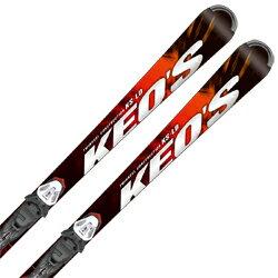 OGASAKA オガサカ スキー板 2018 KEO'S ケオッズ KS-LD PRD11 金具付き 取付送料無料 音楽会 記念品 結婚祝 誕生日 白寿祝