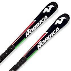 【期間限定!スキー板はさらにポイント5倍!11/14 18時~11/21 13時まで】NORDICA〔ノルディカ スキー板〕<2018>DOBERMANN SL WC PALATE + RACE XCELL 16【金具付き・取付料送料無料】