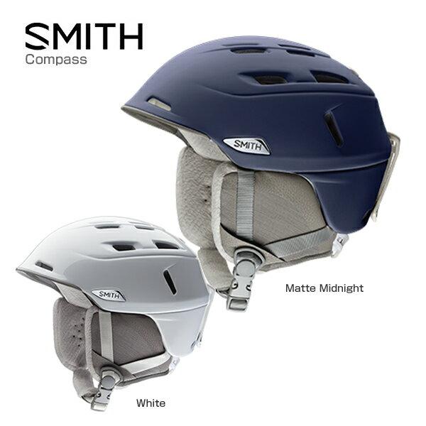 SMITH〔スミス レディース スキーヘルメット〕<2017>Compass〔コンパス〕〔HG〕〔SAH〕