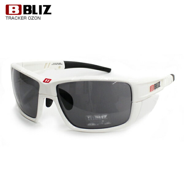 BLIZ 〔ブリス サングラス〕 TRACKER OZON〔トラッカー オゾン〕9024〔WHITE/SMOKE〕〔HG〕