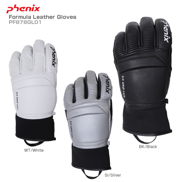 【18-19 NEWモデル】PHENIX〔フェニックス スキーグローブ〕<2019>Formula Leather Gloves PF878GL01