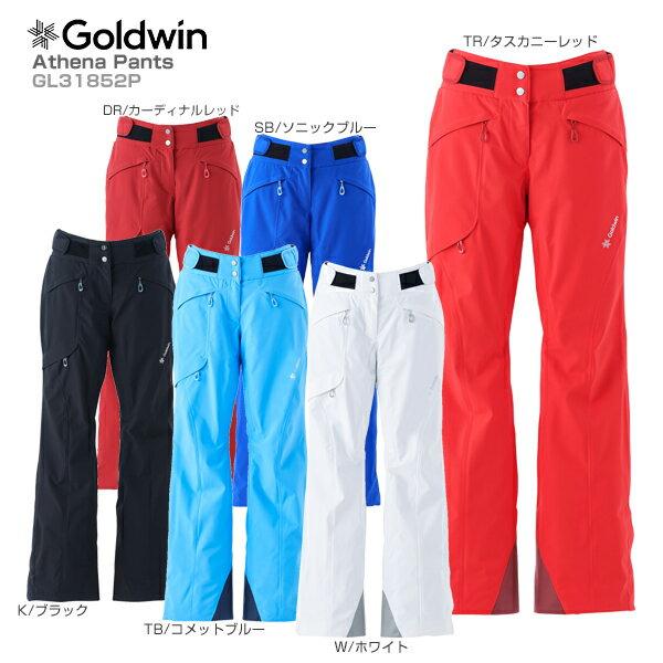【あす楽】【クーポン配布中】【18-19 NEWモデル】GOLDWIN〔ゴールドウィン スキーウェア パンツ〕<2019>Athena Pants GL31852P【GORE-TEX】【送料無料】【MUJI】