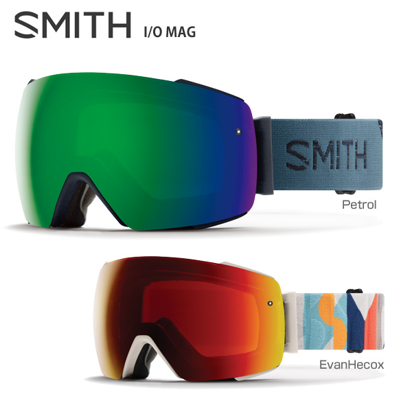 【税込】 【あす楽】【18-19 NEWモデル】【数量限定モデル】SMITH 〔スミス スキーゴーグル〕<2019>I/O MAG〔アイオーマグ〕【スペアレンズ付】【送料無料】, EGGNET卵らん亭:913a90a5 --- paulogalvao.com