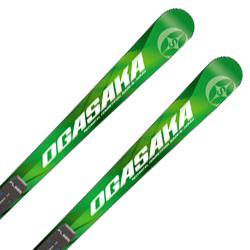 【期間限定!スキー板はさらにポイント5倍!11/14 18時~11/21 13時まで】【18-19 NEWモデル】OGASAKA〔オガサカ スキー板〕<2019>TC〔ティーシー〕TC-MA + FL585 + <17>LX 12 RD/BK【金具付き・取付送料無料】