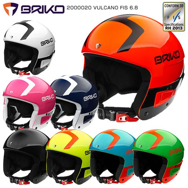 BRIKO〔ブリコ スキーヘルメット〕<2019>2000020/VULCANO FIS 6.8〔ボルケーノ FIS 6.8〕【送料無料】〔SAH〕【FIS対応】