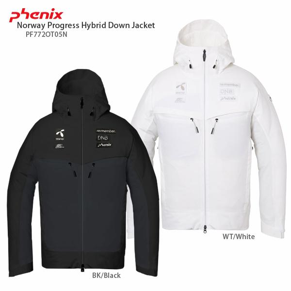 PHENIX〔フェニックス スキーウェア ジャケット〕<2018>Norway Progress Hybrid Down Jacket PF772OT05N【送料無料】〔SA〕