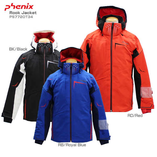 PHENIX〔フェニックス スキーウェア ジャケット メンズ レディース〕<2018>Rook Jacket PS772OT34 【送料無料】