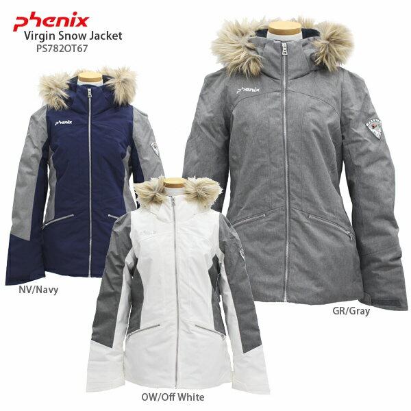 〔タイムセール!11/13 13時まで〕PHENIX〔フェニックス スキーウェア ジャケット レディース〕<2018>Virgin Snow Jacket PS782OT67【送料無料】