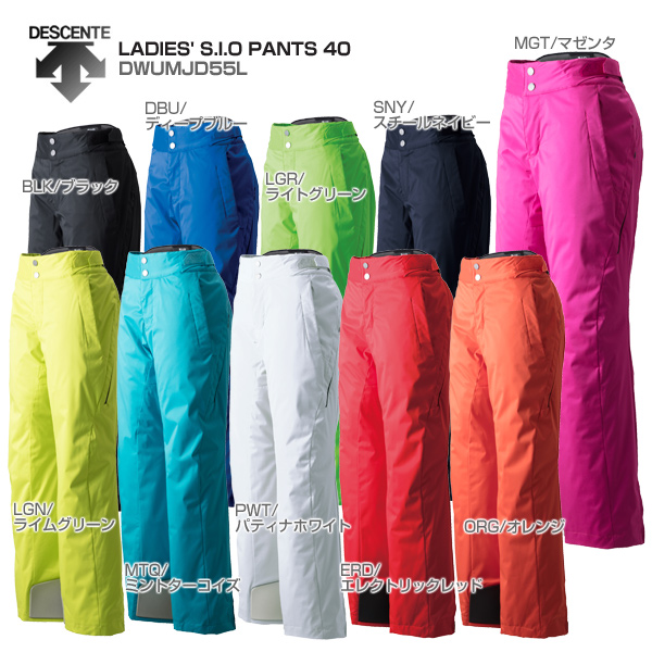 DESCENTE〔デサント スキーウェア パンツ 〕<2019>LADIES' S.I.O PANTS 40/DWUMJD55L【MUJI】