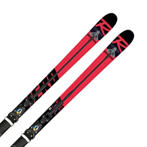 【18-19 NEWモデル】ROSSIGNOL〔ロシニョール スキー板〕<2019>HERO ATHLETE FIS GS DLC FACTORY R22 DLC + SPX 15 ROCKERFLEX Black Icon【金具付き・取付送料無料】