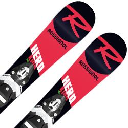 【期間限定!スキー板はさらにポイント5倍!11/14 18時~11/21 13時まで】【18-19 NEWモデル】ROSSIGNOL〔ロシニョール ジュニアスキー板〕<2019>HERO PRO TEAM4 + TEAM 4 B76 Black White【金具付き・取付料無料】