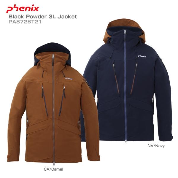 【18-19 NEWモデル】PHENIX〔フェニックス スキーウェア ジャケット メンズ レディース〕<2019>Black Powder 3L Jacket PA872ST21【送料無料】