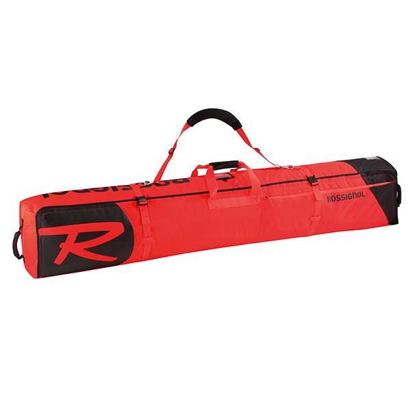 【18-19 NEWモデル】ROSSIGNOL〔ロシニョール 2台用スキーケース〕<2019>HERO SKI WHEELED 2/3P 200 RKHB106【送料無料】