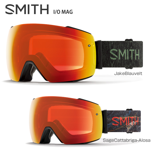 SMITH 〔スミス スキーゴーグル〕<2019>I/O MAG〔アイオーマグ〕【スペアレンズ付】【ハードケース付】【送料無料】