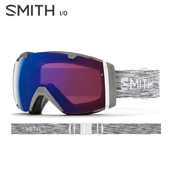 素敵な 【18-19【18-19 NEWモデル】SMITH NEWモデル】SMITH 〔スミス 〔スミス スキーゴーグル〕<2019>I/O〔アイオー〕〔Cloudgrey〕【スペアレンズ付】【送料無料】, 和歌山県有田市:c952e530 --- konecti.dominiotemporario.com