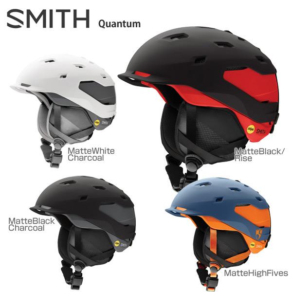 【18-19 NEWモデル】SMITH〔スミス スキーヘルメット〕<2019>Quantum Mips〔クウォンタム〕【boa搭載】【送料無料】