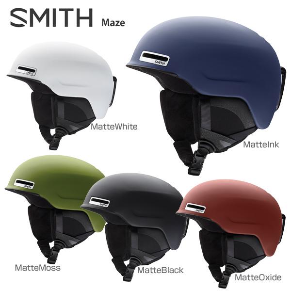 【18-19 NEWモデル】SMITH〔スミス スキーヘルメット〕<2019>Maze〔メイズ〕【ASIAN FIT】