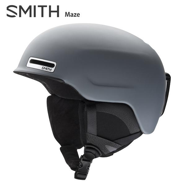 SMITH〔スミス スキーヘルメット〕<2019>Maze〔メイズ〕〔Matte Charcoal〕
