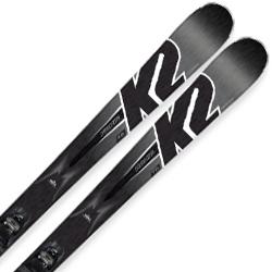 K2〔ケーツー スキー板〕<2019>KONIC 75〔アイコニック 75〕 + M2 10 Quikclik【金具付き・取付送料無料】