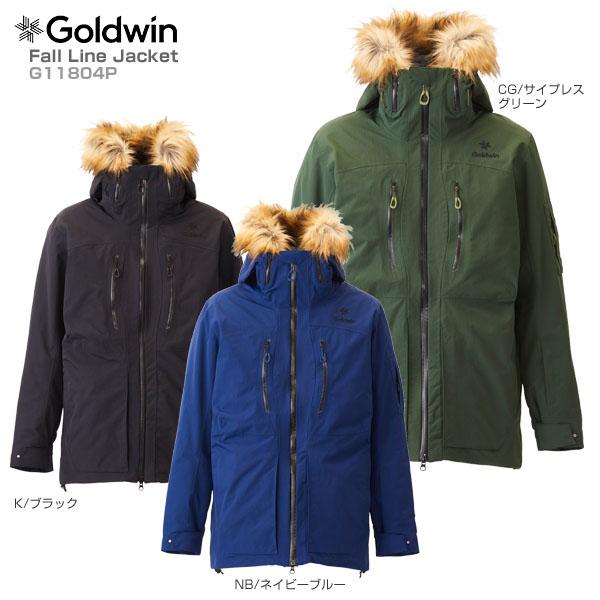 GOLDWIN〔ゴールドウィン スキーウェア ジャケット〕<2019>Fall Line Jacket G11804P 送料無料 【MUJI】〔SA〕