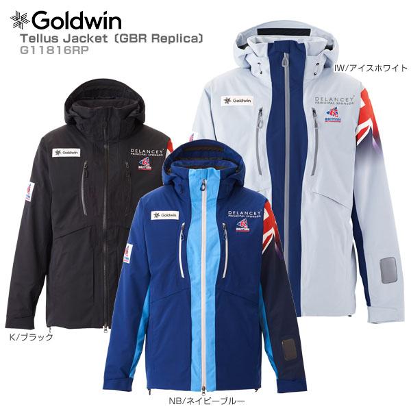 〔ポイント5倍〕【FO】【18-19早期予約】GOLDWIN〔ゴールドウィン スキーウェア〕<2019>Tellus Jacket〔GBR Replica〕G11816RP【送料無料】
